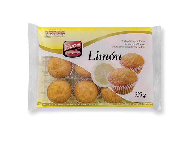 bandeja al limon magdalenas heras