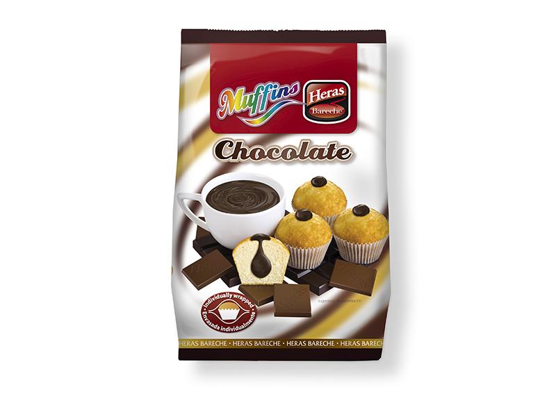 magdalenas rellenas crema chocolate
