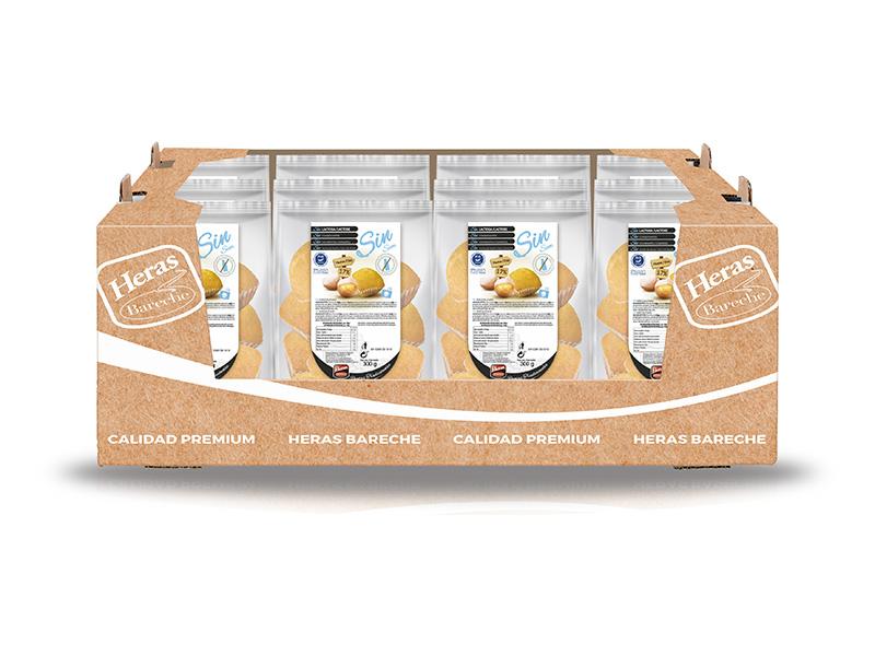 caja magdalenas gama sin lactosa
